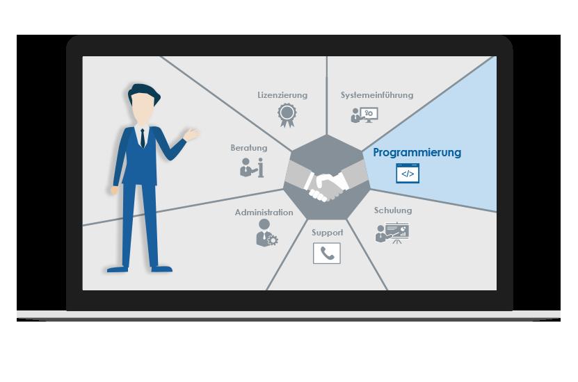 Dienstleistungen Programmierung